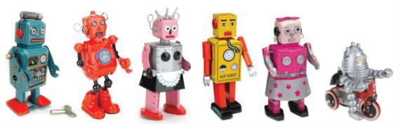 Robots y gadgets de colección