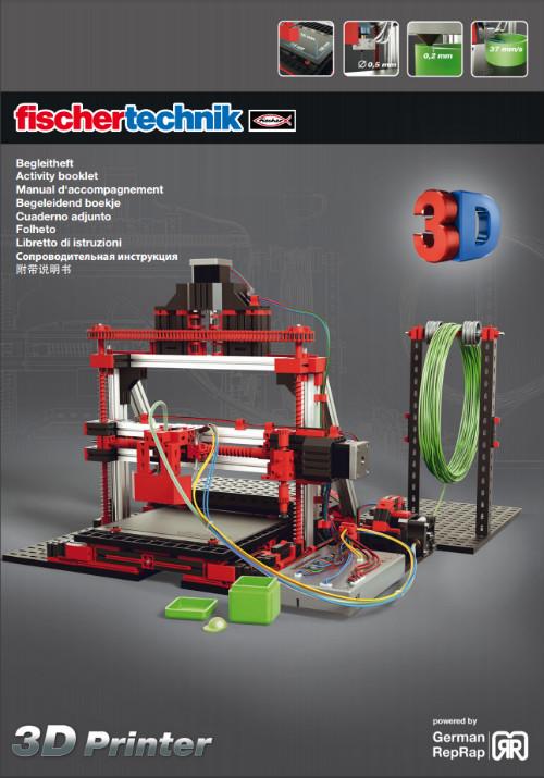 cuaderno adjunto impresora 3d fischertechnik