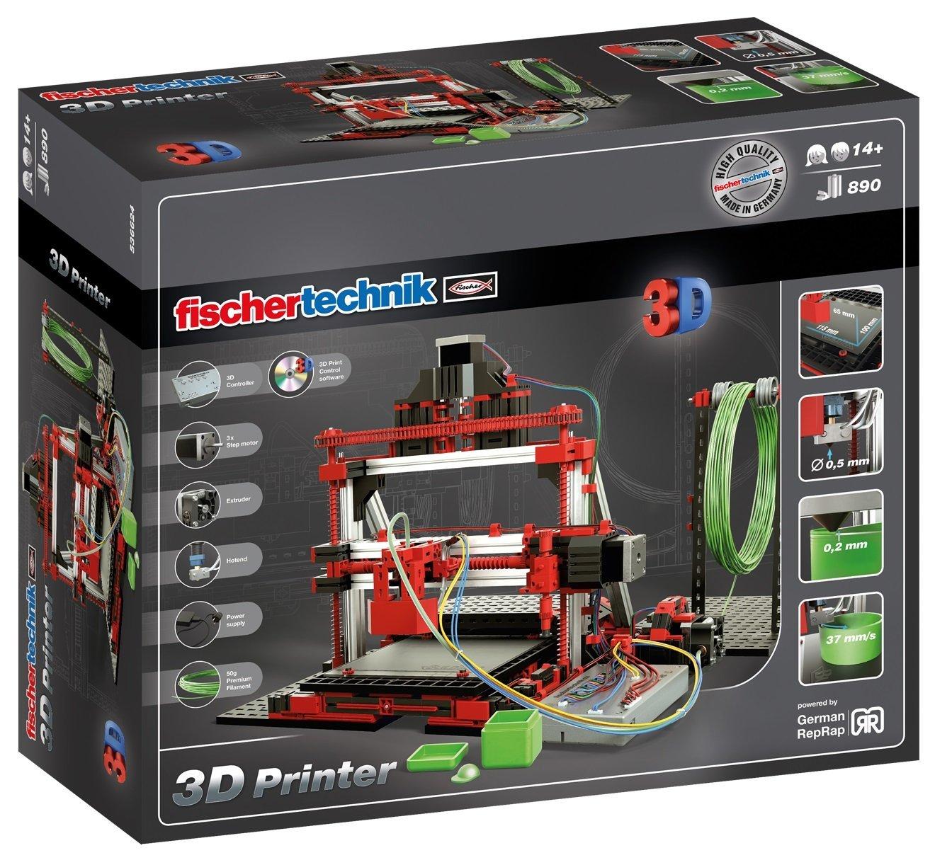 Impresora 3D Fischertechnik Education en RO-BOTICA