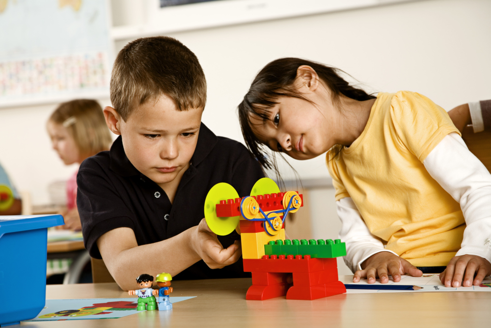 Primeras máquinas simples LEGO Education