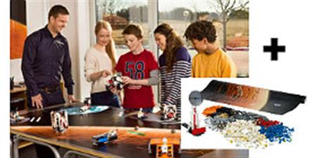 Aula LEGO® MINDSTORMS® Education EV3 - Desafío Espacial