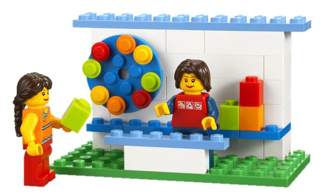 Figuras y piezas de LEGO