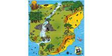 Alfombrilla Isla del tesoro para Bee-Bot y Blue-Bot
