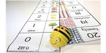 Alfombrilla con números para Bee-Bot y Blue-Bot