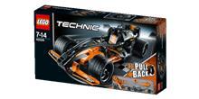 Coche de Carreras Negro LEGO® Technic