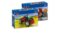 OFERTA 2x1: Pack Kit coches + Kit motos fischertechnik