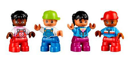 Set Personas del Mundo - LEGO® Education Infantil
