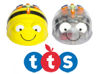 BEE-BOT y BLUE-BOT robots infantiles programables
