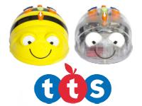 BEE-BOT y BLUE-BOT robots infantiles programables