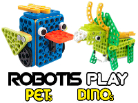 ROBOTIS PLAY Big PETs y DINOs