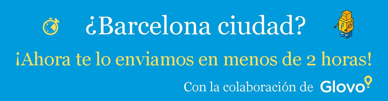 Promoción Envíos Barcelona ciudad