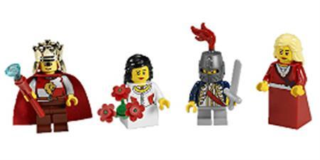 Set Cuentos de Hadas y Minifiguras Históricas LEGO® Education