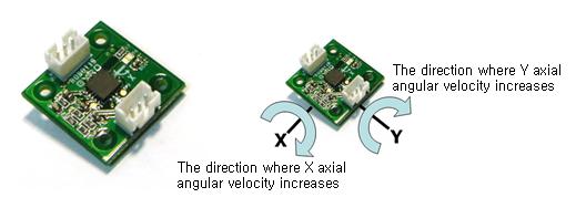 Sensor giróscopo - Bioloid