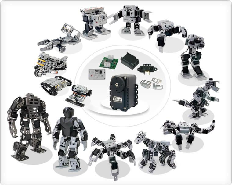 Accesorios ROBOTIS PREMIUM, GP y STEM