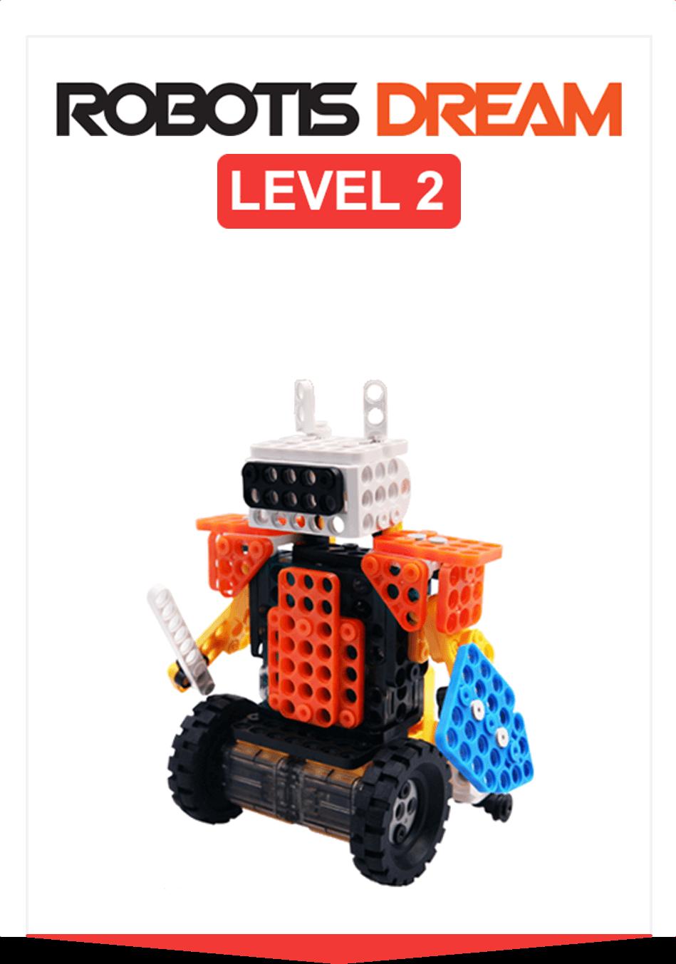 ROBOTIS DREAM Nivel 2: El movimiento del robot