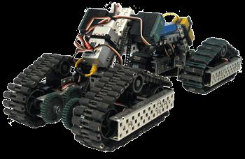 Motocicleta con VEX Robotics