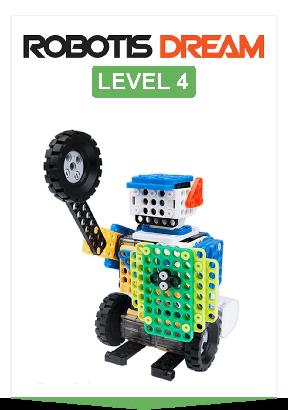 ROBOTIS DREAM Nivel 4: Competición y juegos