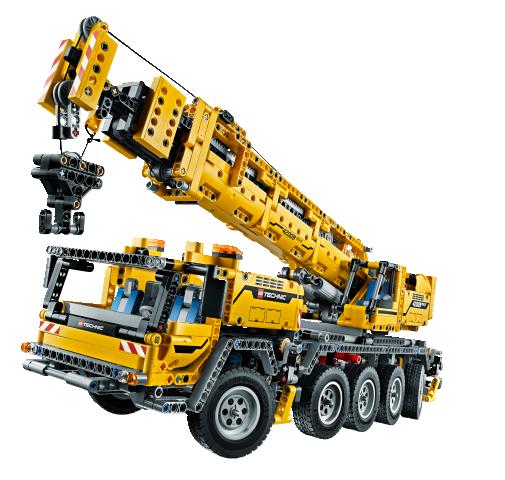 Gran Camión Grúa Motorizado - LEGO Technic
